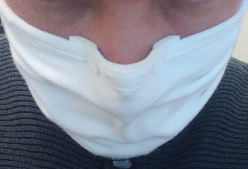 AVEC le pince masque anti-buée