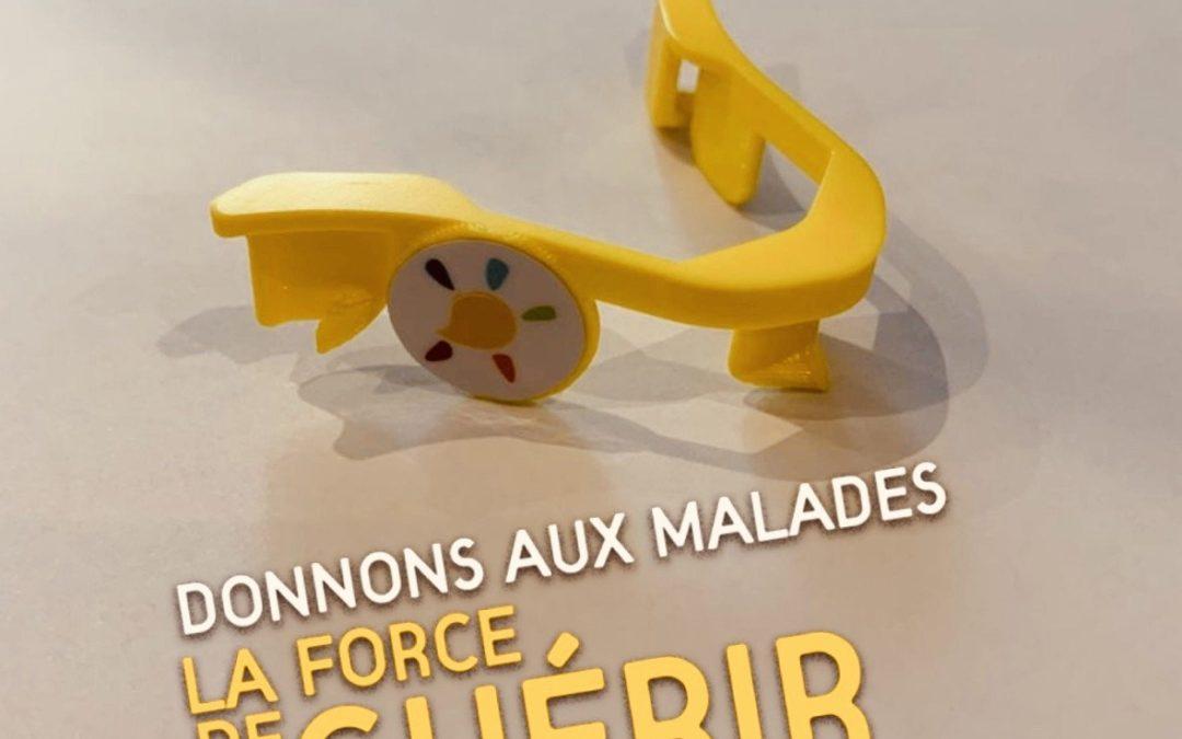 """Opération Téléthon des makers """"pince-masque"""""""