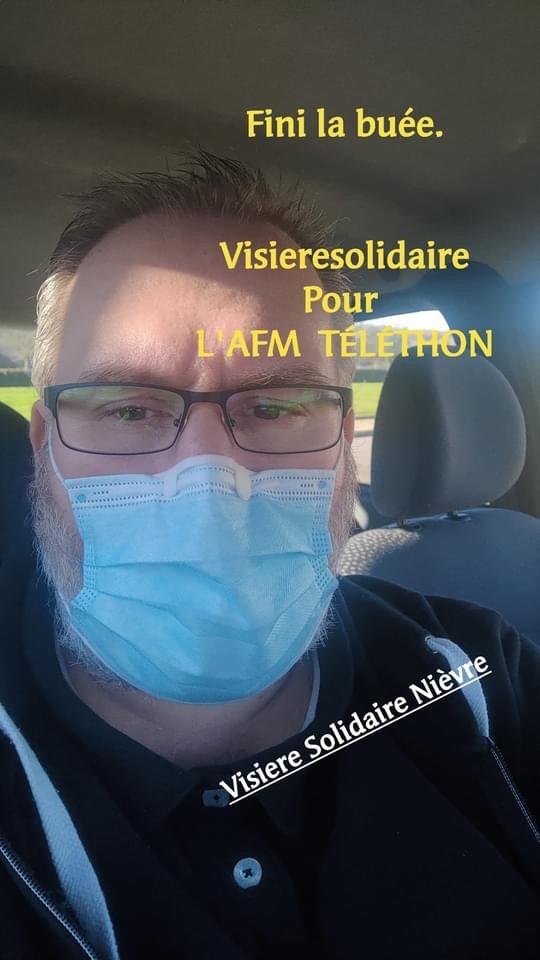 Visière solidaire Nièvre